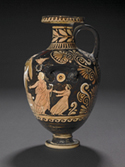 Red-Figure Hydria. By a painter close to the Danaids Painter