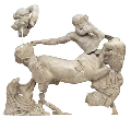 Fight between Centaur and Lapith