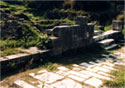 "The Agora of ancient Thasos. ""Diode of Theoron"""