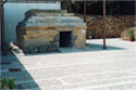 Macedonian tomb in the yard of Chios Museum