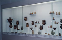 Exhibits of classical years in hall VIII