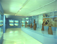 General view of the exhibition hall