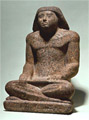 Statue of the royal scribe Rahotep
