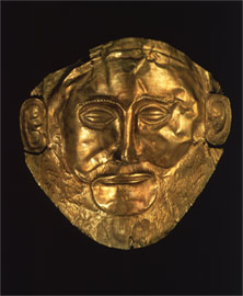 The Mask of 'Agamemnon' is the most expressive one found in Grave Circle A