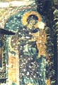South side of north pillar-wall: the Virgin and Child