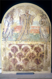 Wall painting of Susanna and the Elders