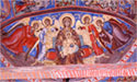 "Wall painting in the apse: the Virgin ""Platytera"""