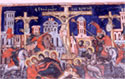 Wall painting: the Crucifixion