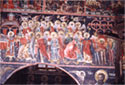 Wall painting: the Divine Liturgy