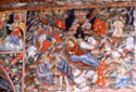 Wall painting: the Nativity
