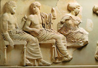 Olympian gods from the Parthenon frieze