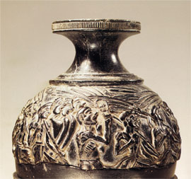 View of the reapers' vase