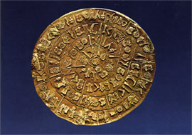 Side A of the Phaistos' disk