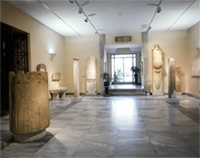 Entrance-hall of the Museum