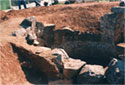 View of the tholos tomb