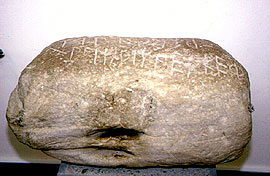 The inscribed stone of Bybon