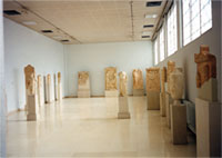Hall of funerary monuments (exhibition hall 6 at the upper floor of the building)