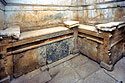The funerary beds