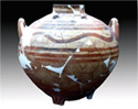 Amphora from the mycenaean settlement at Dimini