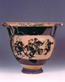 Black-figure column krater