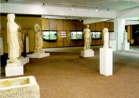 View of the museum's exhibition